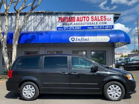 2015 Dodge Grand Caravan for sale at PORTLAND AUTO SALES LLC. in Portland OR