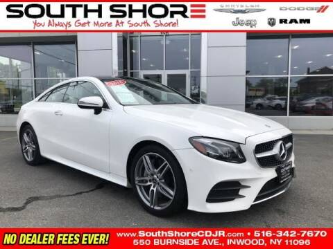 2018 Mercedes-Benz E-Class for sale at South Shore Chrysler Dodge Jeep Ram in Inwood NY