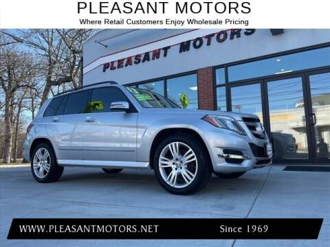 2013 Mercedes-Benz GLK for sale at Pleasant Motors in New Bedford MA