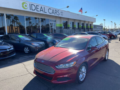 2015 Ford Fusion for sale at Ideal Cars in Mesa AZ