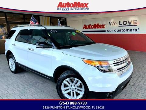 2014 Ford Explorer for sale at Auto Max in Hollywood FL