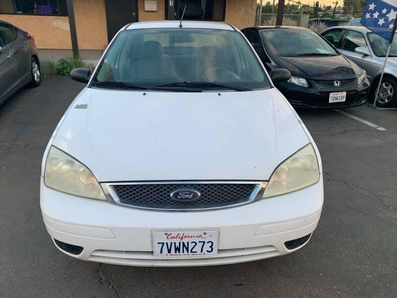 2006 Ford Focus for sale at Aria Auto Sales in El Cajon CA