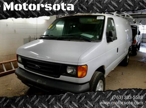 2007 Ford E-Series Cargo for sale at Motorsota in Becker MN