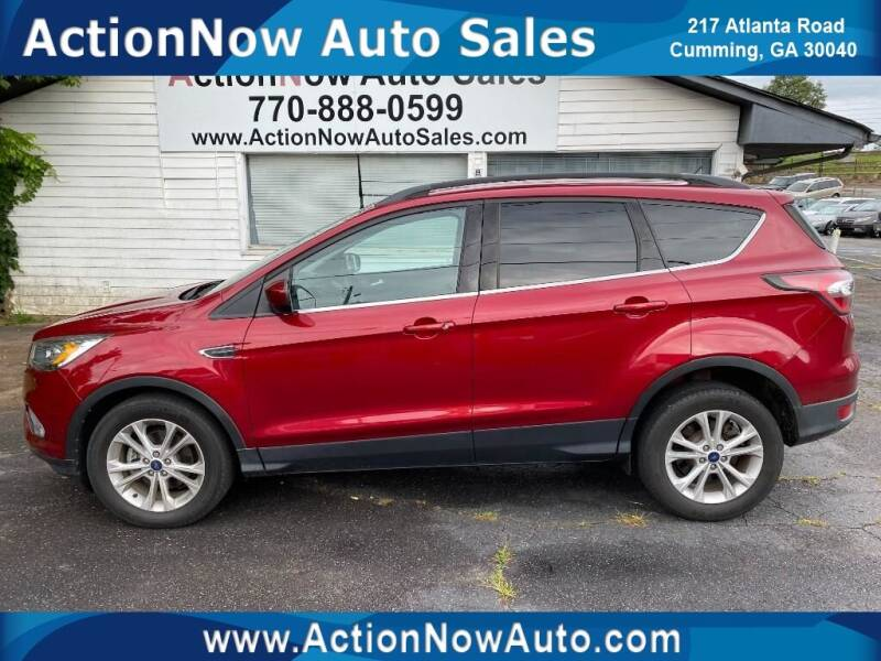 2017 Ford Escape for sale at ACTION NOW AUTO SALES in Cumming GA