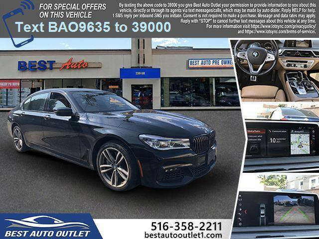 2019 BMW 7 Series for sale at Best Auto Outlet in Floral Park NY
