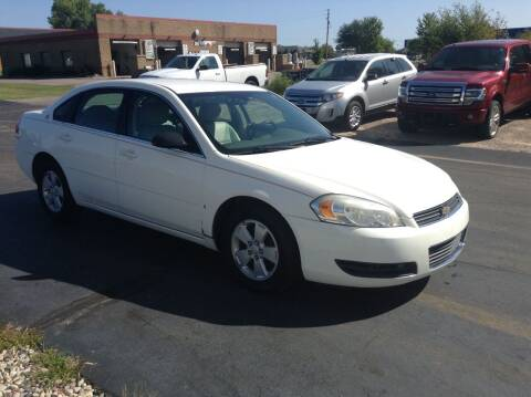 2007 Chevrolet Impala for sale at Bruns & Sons Auto in Plover WI