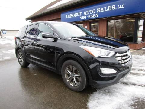 2013 Hyundai Santa Fe Sport for sale at LeBoeuf Auto Sales in Waterford PA
