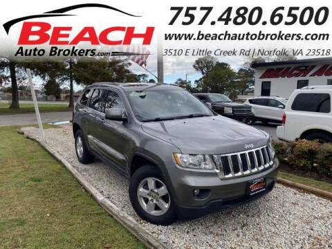 2012 Jeep Grand Cherokee for sale at Beach Auto Brokers in Norfolk VA