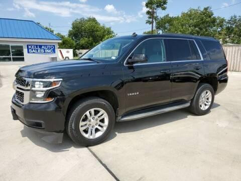2015 Chevrolet Tahoe for sale at Kell Auto Sales, Inc - Grace Street in Wichita Falls TX