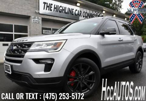 2018 Ford Explorer for sale at The Highline Car Connection in Waterbury CT