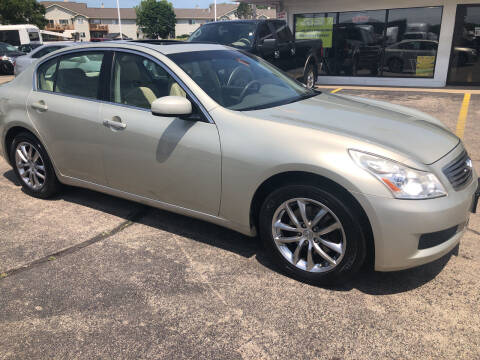 2007 Infiniti G35 for sale at Top Notch Auto Brokers, Inc. in Palatine IL