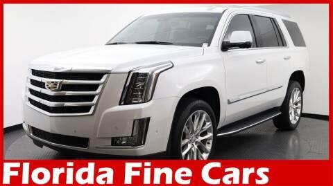 2017 Cadillac Escalade for sale at Florida Fine Cars - West Palm Beach in West Palm Beach FL