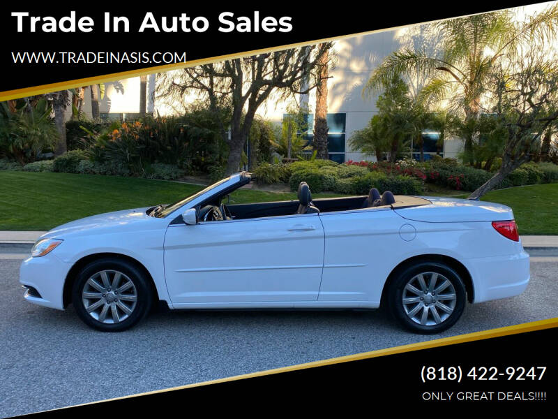 2012 Chrysler 200 Convertible for sale at Trade In Auto Sales in Van Nuys CA