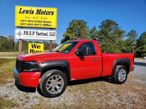 2008 Chevrolet Silverado 1500 for sale at Lewis Motors LLC in Deridder LA