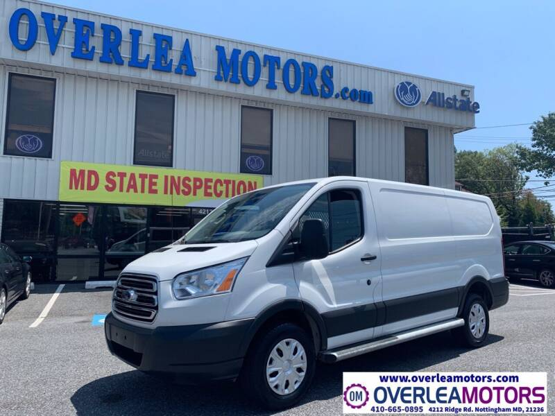 2018 Ford Transit Cargo for sale at Overlea Motors in Baltimore MD