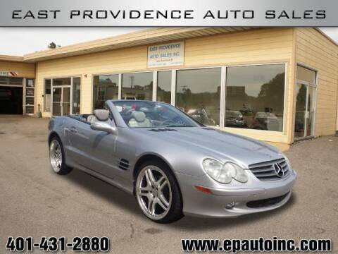 2005 Mercedes-Benz SL-Class for sale at East Providence Auto Sales in East Providence RI