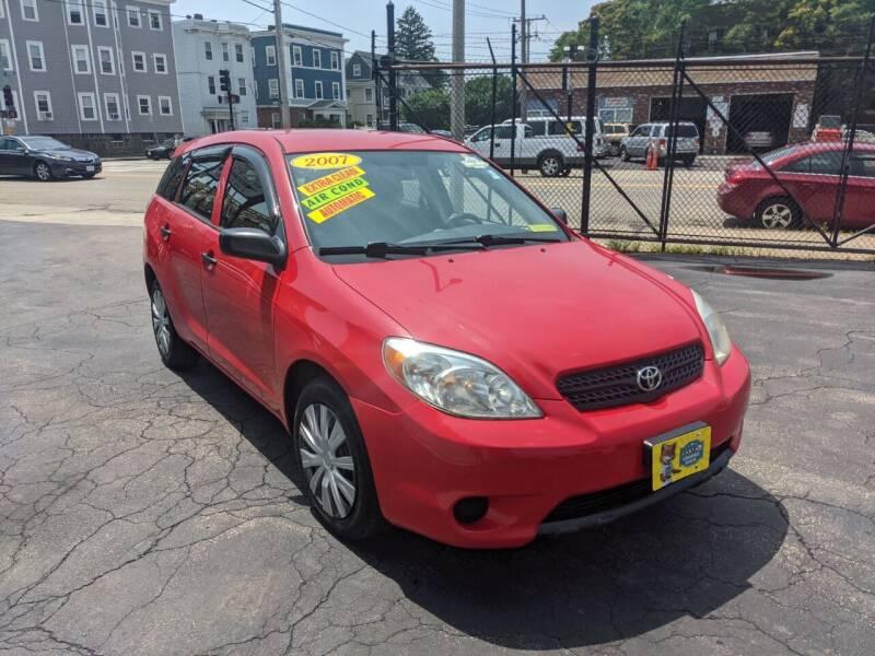 2007 Toyota Matrix for sale at Adams Street Motor Company LLC in Boston MA