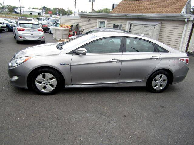2011 Hyundai Sonata Hybrid for sale at American Auto Group Now in Maple Shade NJ