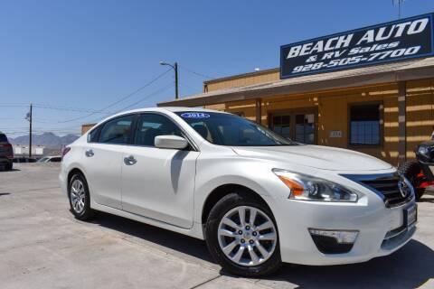 2014 Nissan Altima for sale at Beach Auto and RV Sales in Lake Havasu City AZ