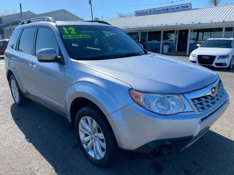 2012 Subaru Forester for sale at HACKETT & SONS LLC in Nelson PA
