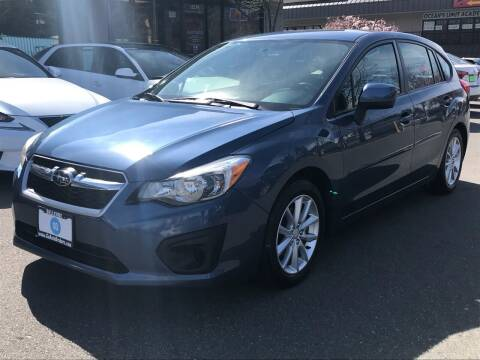 2013 Subaru Impreza for sale at GO AUTO BROKERS in Bellevue WA