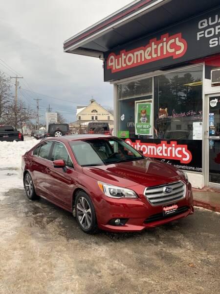 2016 Subaru Legacy for sale at AUTOMETRICS in Brunswick ME