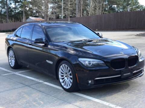 2009 BMW 7 Series for sale at Two Brothers Auto Sales in Loganville GA