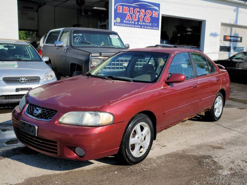 2003 Nissan Sentra for sale at Ericson Auto in Ankeny IA