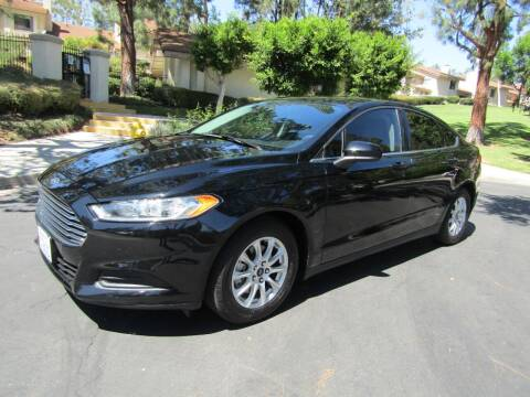 2016 Ford Fusion for sale at E MOTORCARS in Fullerton CA