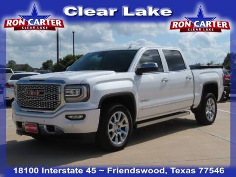 2018 GMC Sierra 1500 for sale at Ron Carter  Clear Lake Used Cars in Houston TX