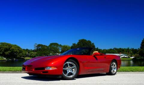 2002 Chevrolet Corvette for sale at P J'S AUTO WORLD-CLASSICS in Clearwater FL