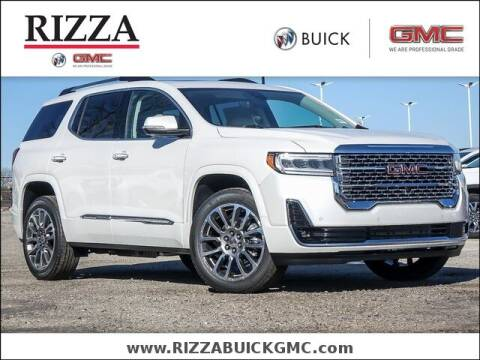 2021 GMC Acadia for sale at Rizza Buick GMC Cadillac in Tinley Park IL