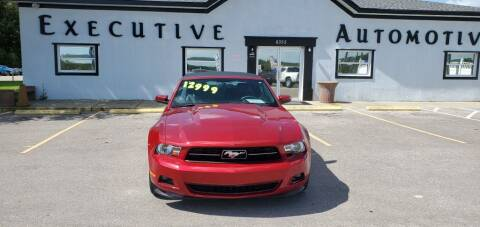 2012 Ford Mustang for sale at Executive Automotive Service of Ocala in Ocala FL