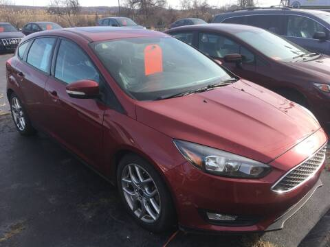2015 Ford Focus for sale at MELILLO MOTORS INC in North Haven CT