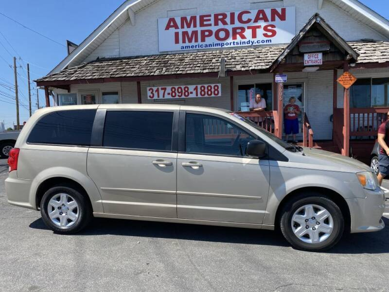 2012 Dodge Grand Caravan for sale at American Imports INC in Indianapolis IN