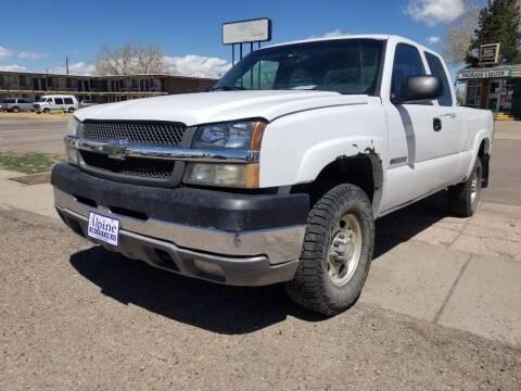2003 Chevrolet Silverado 2500HD for sale at Alpine Motors LLC in Laramie WY