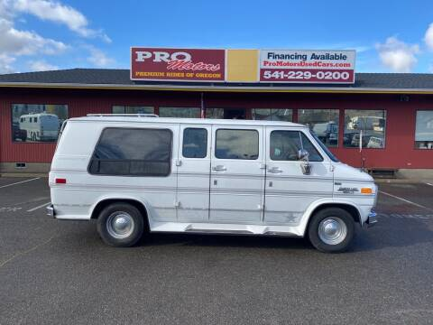 1992 Chevrolet Chevy Van for sale at Pro Motors in Roseburg OR
