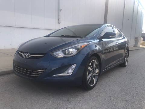 2015 Hyundai Elantra for sale at WALDO MOTORS in Kansas City MO