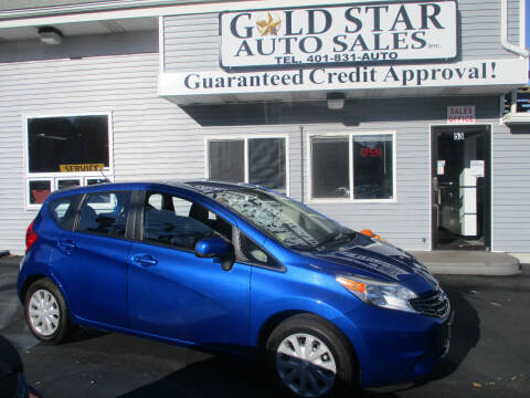 2014 Nissan Versa Note for sale at Gold Star Auto Sales in Johnston RI