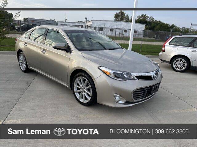 2014 Toyota Avalon for sale at Sam Leman Mazda in Bloomington IL