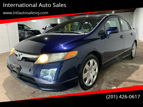 2008 Honda Civic for sale at International Auto Sales in Hasbrouck Heights NJ