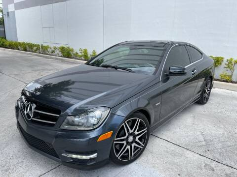 2013 Mercedes-Benz C-Class for sale at Auto Beast in Fort Lauderdale FL