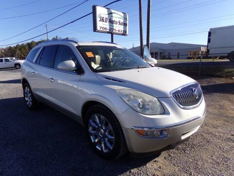2011 Buick Enclave for sale at J & D Auto Sales in Dalton GA
