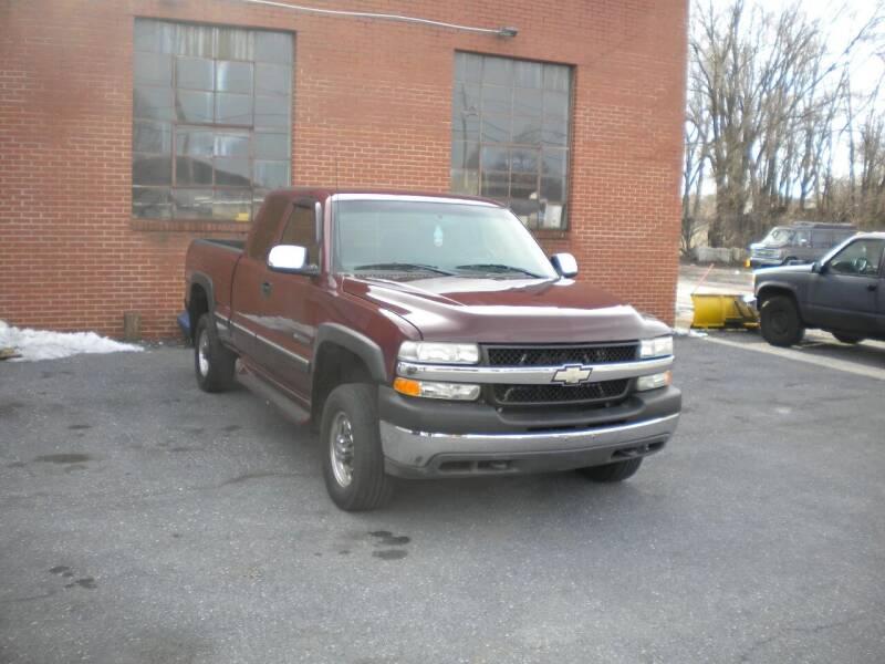 2002 Chevrolet Silverado 2500HD for sale at Ben Edwards Auto in Waynesboro VA