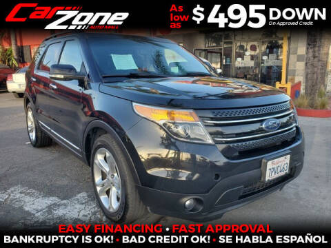 2015 Ford Explorer for sale at Carzone Automall in South Gate CA