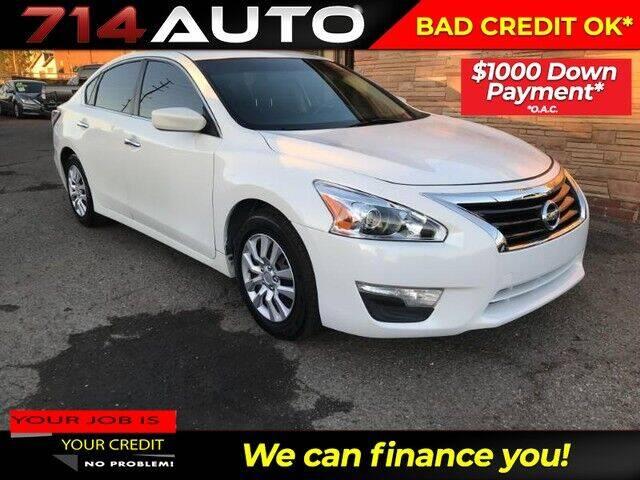 2015 Nissan Altima for sale at 714 Auto in Orange CA