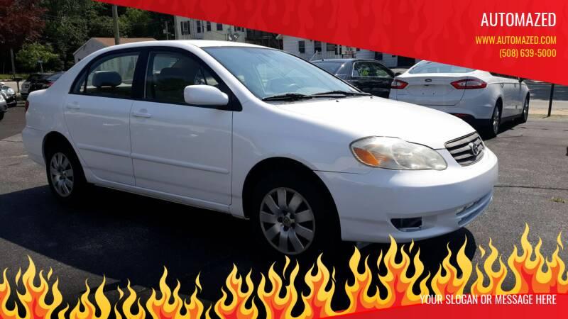 2004 Toyota Corolla for sale at Automazed in Attleboro MA
