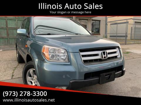 2006 Honda Pilot for sale at Illinois Auto Sales in Paterson NJ