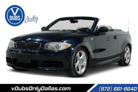 2008 BMW 1 Series for sale at VDUBS ONLY in Dallas TX