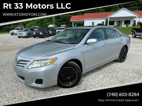 2010 Toyota Camry for sale at Rt 33 Motors LLC in Rockbridge OH